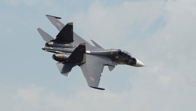 В Сирии разбился российский истребитель Су-30: оба пилота погибли