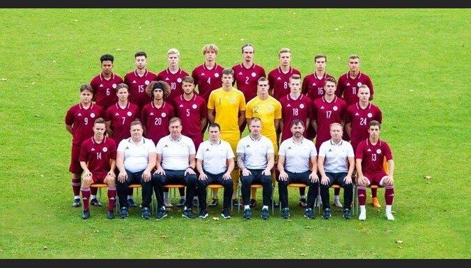Latvijas U-19 futbolisti izšķirošajā mačā pret Kipru cieš zaudējumu; uz elites kārtu netiek