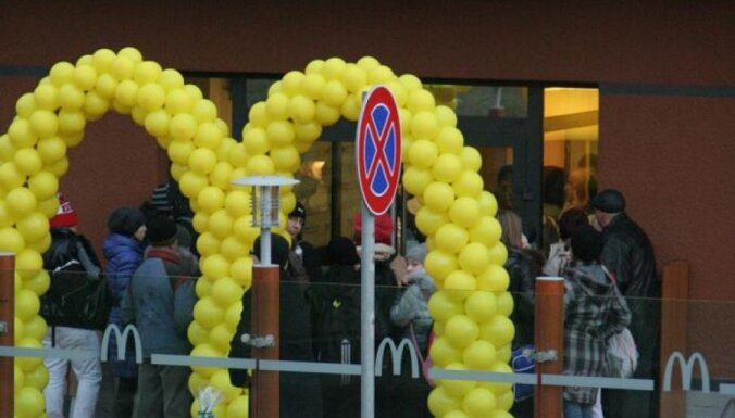 Суровые латгальские любители фастфуда получили свой McDonalds