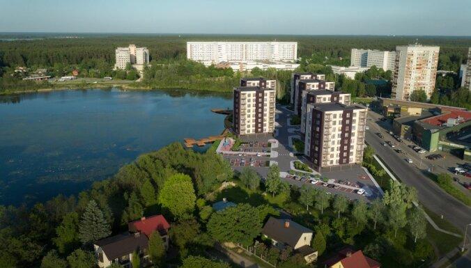 Merks приступает к строительству второй очереди проекта Gaiļezera nami