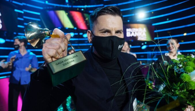 'Muzikālajā bankā' noskaidrota pērnā gada vērtīgākā latviešu dziesma