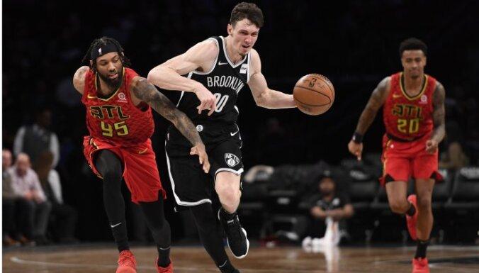 Kurucs arī janvārī ticis izvirzīts NBA mēneša labākā debitanta balvai