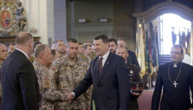 Esam gatavi aizstāvēt Latviju, Zemessardzes gadadienā uzsver Vējonis