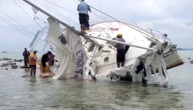 У берегов Тонга нашли яхту с 200 кг кокаина и трупом