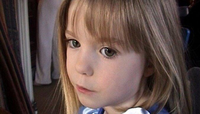 Atsāk meklēt 2007. gadā pazudušo meitenīti Madlēnu Makenu