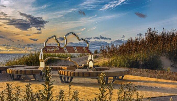 Patiks visai ģimenei: skaisti brīvdabas tūrisma objekti Ventspilī