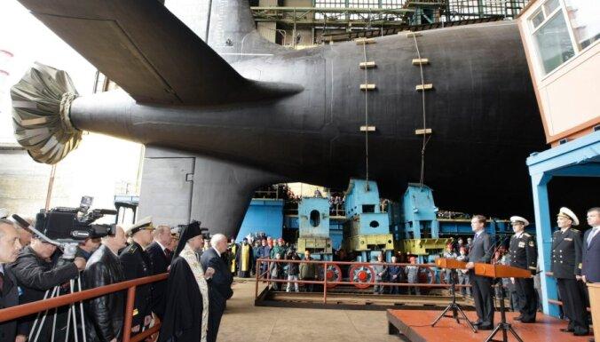 В Петербурге заложили новую подлодку для ВМФ России