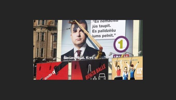 Aptauja: Šleseru Rīgas mēra amatā vēlas redzēt 31,1% rīdzinieku