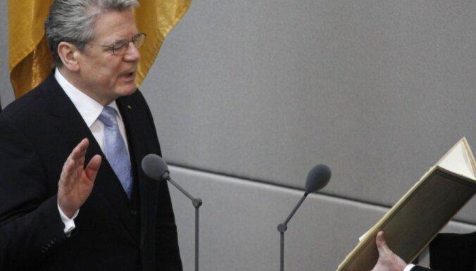 Vācijas prezidents noliedz valsts vēlmi uzspiest pārējām ES dalībniecēm savu gribu