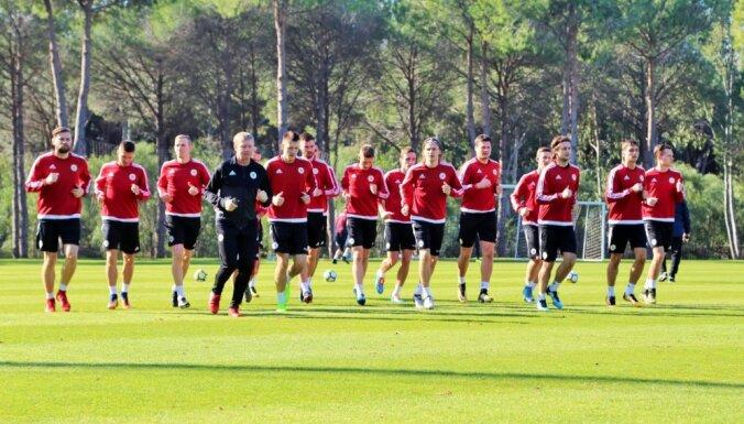 Latvijas futbola izlase FIFA rangā saglabjusi 139.vietu