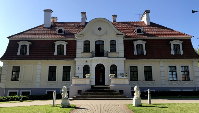 ФОТО. Роскошная Свентская усадьба в Даугавпилсском крае
