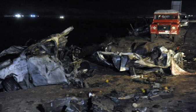 ФОТО: Более 30 человек погибли в ДТП с бензовозом в Сирии