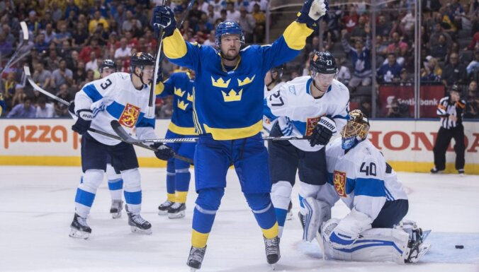 World Cup Finland - Sweden, Anton Stralman, Tuukka Rask