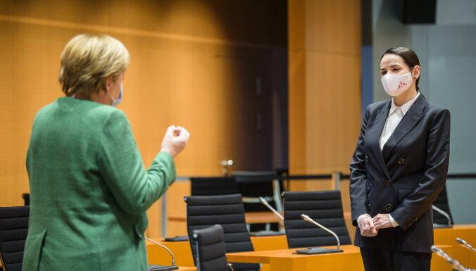 Светлана Тихановская встретилась в Берлине с Меркель