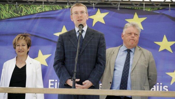 Ринкевич: ЕС компенсирует Латвии потери из-за санкций в отношении России