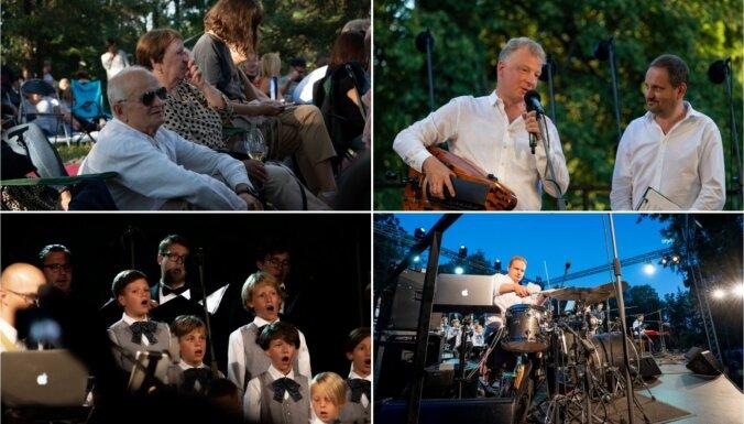 Foto: Tiguļkalnā noticis jau devītais Raimonda Tigula brīvdabas koncerts