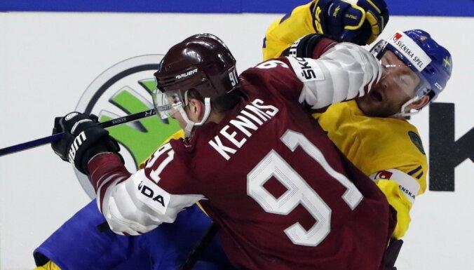 Сборная Латвии достойно проиграла Швеции и завершила чемпионат мира на восьмом месте