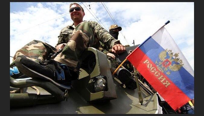 "ВИДЕО: в Донецке восторженно встретили батальон ""Восток"" под флагами РФ"