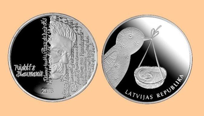 Банк Латвии выпускает в обращение монету с мышонком