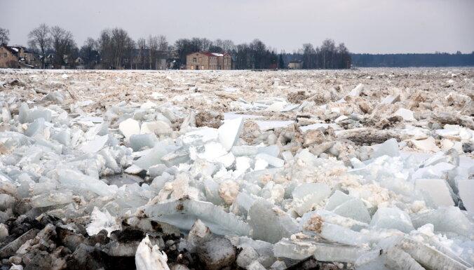 В Плявиняс также обсуждается возможность взрывать лед