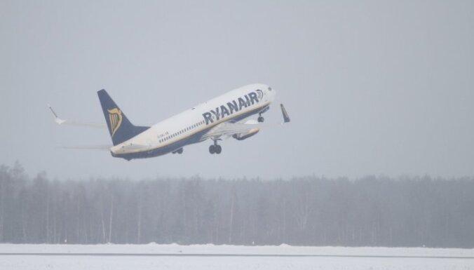 Ryanair закрыла маршруты Рига-Стокгольм и Рига-Брюссель (дополнено)