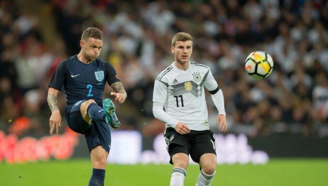 'Euro 2020': Anglijas un Vācijas izlases tiksies principiālā astotdaļfināla spēlē