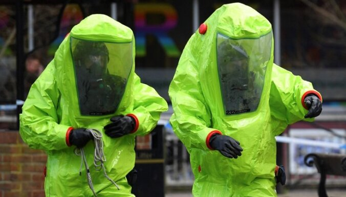 Lielbritānija jau drīz pēc uzbrukuma noskaidrojusi 'Novičok' ražošanas vietu