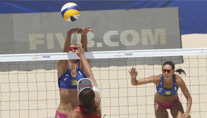 Graudiņa/Kravčenoka iekļūst Vīnes turnīra 'play off'; Samoilovs/Šmēdiņš apstājas kvalifikācijā