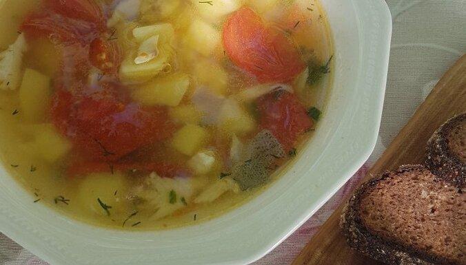 Наследие латвийской кулинарии: рыбный суп по-латгальски со шмаковкой
