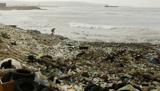 Vidusjūra piesārņota ar 250 miljardiem plastikāta gabaliņu