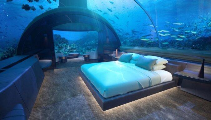 Экстравагантный ночлег: пять гостиниц с видом на подводный мир