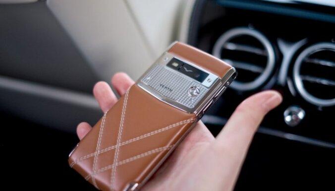 Bankrotē luksusa viedtālruņu ražotājs 'Vertu'
