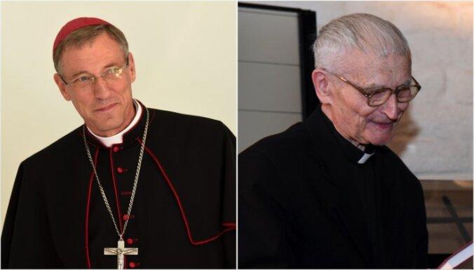 Arhibīskaps Stankevičs vakcinējies pret Covid-19; kardināls Pujats sevi potēt neļaušot