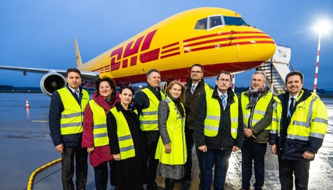 'DHL' par 12 miljoniem lidostā 'Rīga' būvēs aviācijas kravu apstrādes cehu