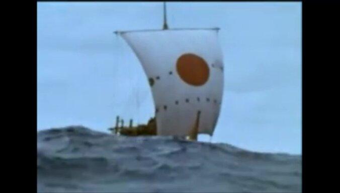 'Ra II' vētrā Atlantijā