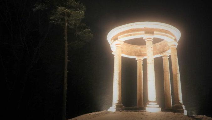 Ziemassvētku priekšvakarā Alūksnē iemirdzas Tempļakalna rotonda