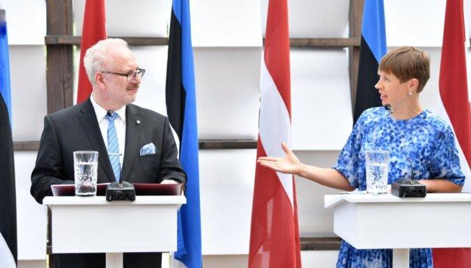 Латвию посетит с рабочим визитом президент Эстонии