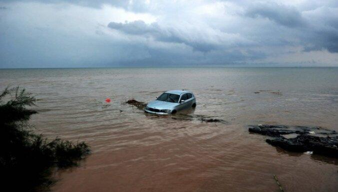 Plūdos Ēģiptē gājuši bojā vismaz 22 cilvēki