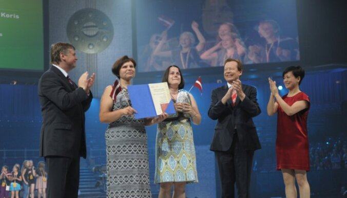 Pasaules koru olimpiādē Latvijai vēl divi čempiona tituli