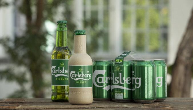 ФОТО: В Дании создали эко-бутылки для пива из древесного волокна
