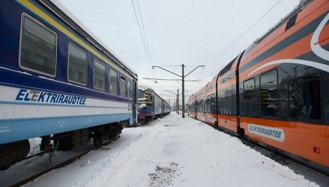 Латвия покупает старые электрички в Эстонии, получившей новые поезда