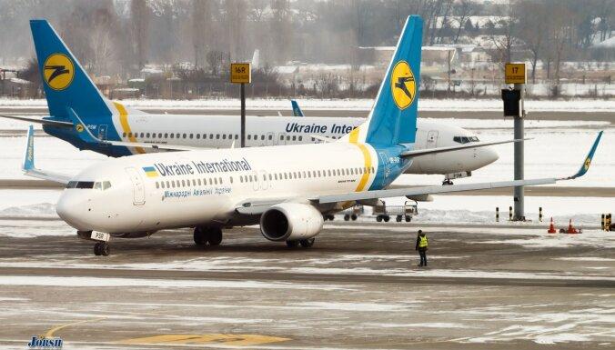 Video: Pie Teherānas nogāzusies Ukrainas pasažieru lidmašīna