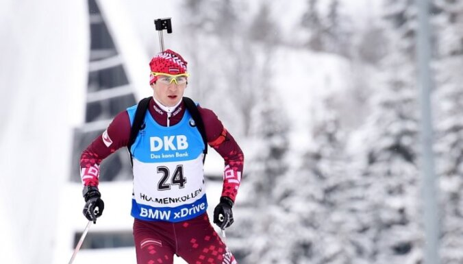 Rastorgujevs izcīna sesto vietu Pasaules kausa 20 kilometru distancē; Bricis atgriežas ar 63.vietu