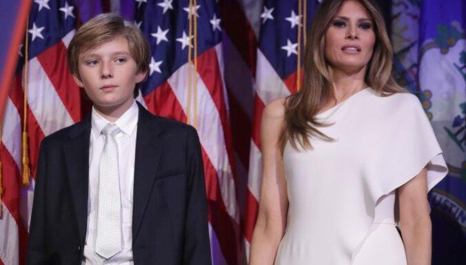 Мелания Трамп с сыном не хочет переезжать в Белый дом после инаугурации мужа