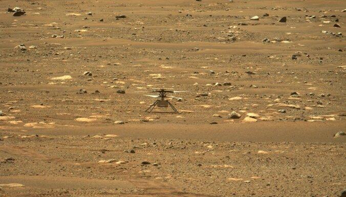 Ņiprais NASA drons uz Marsa atkal pārsit rekordus, bet ne bez pūlēm