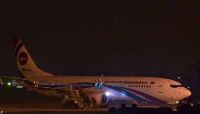 Bangladešā novērš pasažieru lidmašīnas nolaupīšanu