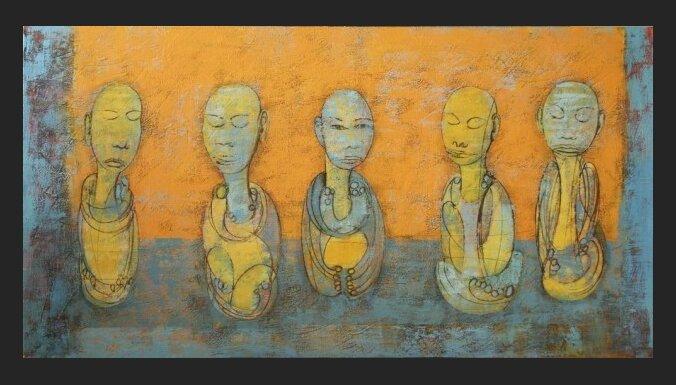 Galerijā 'Slazds' atklās Andreja Kostromina izstādi 'Kaujas lauka gabaliņi'