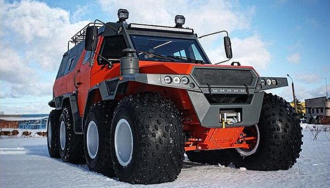 Visnopietnākie bezceļu auto ziemai
