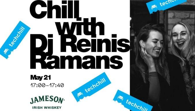 TechChill noslēguma pasākums: saullēkta sesija Ķemeru tīrelī ar DJ Reinis Ramans