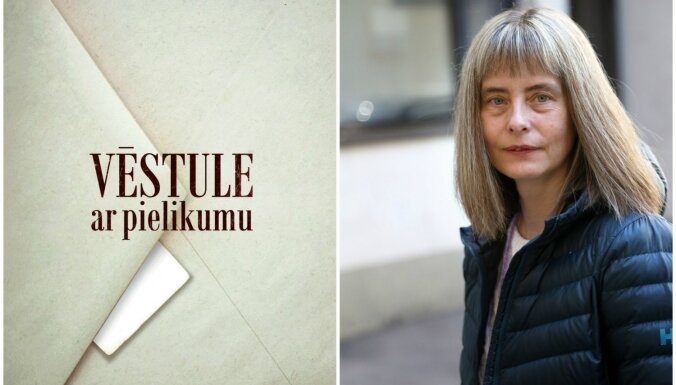 Izdots čekas vēstures pētnieces Ineses Dreimanes romāns 'Vēstule ar pielikumu'
